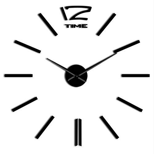 fekt DIY Wandkunst Uhr Kit Dekoration Quarzuhr Batteriebetriebene Personalisierte Uhr Uhr Mode Dekoration(47inch) ()