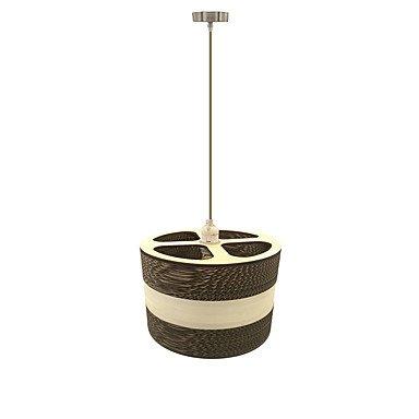 Pendelleuchten/Hängeleuchte, modernen/zeitgenössischen Traditionellen/klassischen Rustikal/Lodge Globus Schüssel Vintage Retro Laterne Drum Land Insel Holz