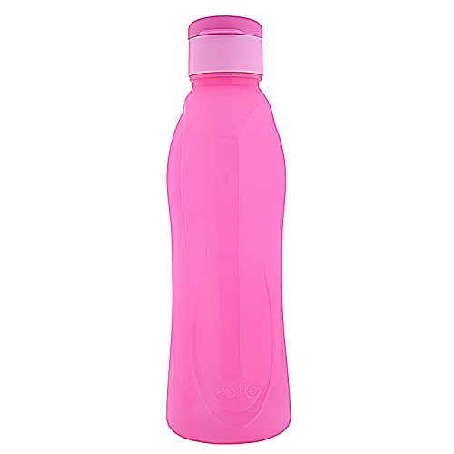 Cello Fresca Flip Polypropylene Bottle, 1 Litre, Pink
