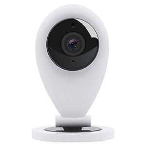 HiKam S6 Überwachungskamera mit Personendetektion   diebstahlsicher mit kostenloser Cloud-Speicherung in Deutschland   WLAN IP Kamera HD Datensicherheit mit Deutscher Server App Anleitung Support
