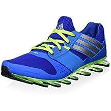 competitive price 4f90c cd391 adidas Sneaker Springblade Drive J Blu Lime EU 38