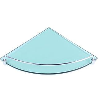 Art of Baan Glas-Wandregal für Duschwände / Duschkabinen Glas Regal Ablage 8mm Sicherheitsglas