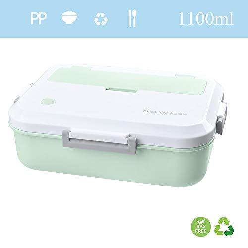 HEYIHUI Bento Box Lunchbox Lunch Food Box Kids Kind + PP ♻ Separates Fach Tragbare Auslaufsichere 100% BPA-frei 1100ml (Für Aluminium-lunch-boxen Kinder)