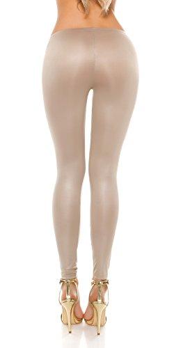 KouCla - Legging - Femme Beige