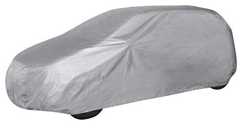Walser 31010 Autoabdeckung Vollgarage Größe M hellgrau, wasserdichte Ganzgarage, Staubdicht mit UV Schutz