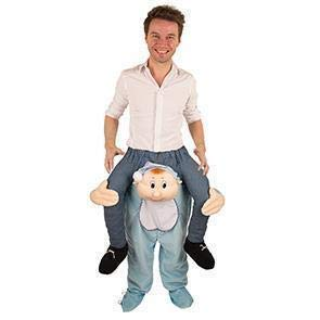 Karnevalskontor Kostüm Aufsitz Kostüm Funny Spaß Baby Boy 47598