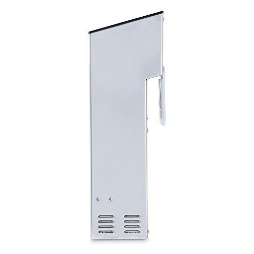 Klarstein Tastemaker Compact • Vakuumgarer • Sous-Vide-Garer • Schongarer • 1100 Watt • Temperatur einstellbar • 0 °C - 99 °C • Garzeit einstellbar bis 99 Stunden • einfache Befestigung • Digitaldisplay • Umwälzpumpe 12 l/min • platzsparend • silber - 5
