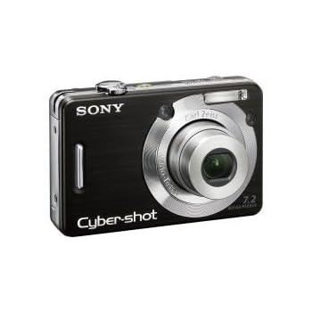 Sony Appareil photo compact Cybershot DSCW55 noir