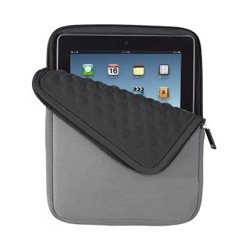 Trust Anti-Shock Bubble Sleeve for All 10-inch Tablets - Grey ... fc04b1524f