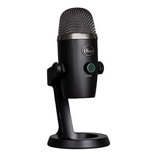 Blue Microphones Yeti Nano Professionelles Kondensator-USB-Mikrofon (mit mehreren Aufnahmemustern und Überwachung ohne Latenz für Aufnahme und Streaming auf PC und Mac) schwarz