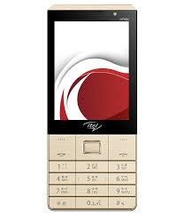 Itel It 7100 Mobile In Golden Colour