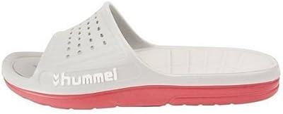 HUMMEL HUMMEL SPORT Adulto Unisex Ducha & Zapatillas baño - Blanco, 37 EU