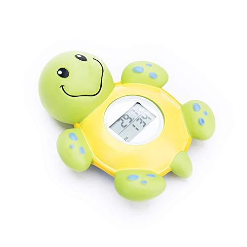 Bad Thermometer, Baby Digital Tier Design Schildkröte Form Anzeige Uhr Schwimm Badewanne Spielzeug Schnell und Präzise Wasser Lesungen Kinder Badespielzeug Show, 22.5 * 15.2 * 5cm