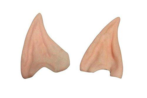 Leisial Unisexe Halloween s'habille Elven Ears Oreille en Silicone Une Paire Oreille étrangère