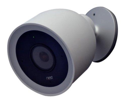 Nest nc4100ex videocamera di sicurezza per esterni cam iq, bianco