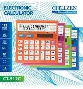 VEDANT Citllzen CT-512C Basic Calculator for personal or office use MULTI COLOURS