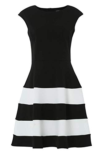 fff29713a57 Roman Originals Women Colour Block Fit and Flare Dress – Ladies Smart Formal  ...