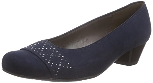 Jenny Damen Catania Pumps, blau 02, 38.5 EU