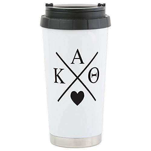 CafePress-Kappa Alpha Theta 16Oz-Thermobecher Edelstahl, isoliert 16Oz Coffee Tumbler Alpha-tumbler