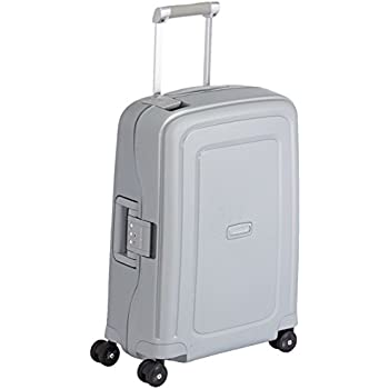 Samsonite Bagage Cabine S'cure Spinner - 55X40X20, 34 L,Argent