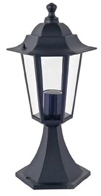 """Aluminium Sockelleuchte """"Kingston"""", schwarz für den Außenbereich von Bella-Vita GmbH bei Lampenhans.de"""