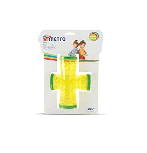 nobby-spelos-metro-tubes-connecteurs-en-croix-pour-rongeurs-coloris-alatoire