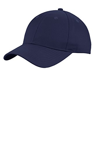 Port Authority® Uniforming Twill Cap. C913 Navy OSFA (Authority Cap Twill Port)