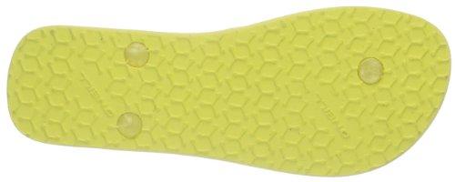 O'Neill FTW MOYA FLOWER Damen Zehentrenner Mehrfarbig (Lime yellow 2001)