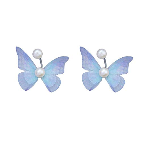 Fantasy Butterfly Wings - CLY earring Ohrstecker S925 Sterling Silber