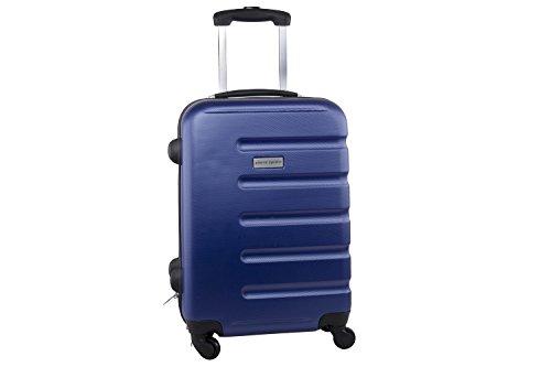 Maleta rígida PIERRE CARDIN azul mini equipaje de mano ryanair S210