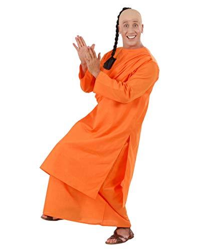 Dalai Kostüm Lama - Horror-Shop Orangefarbenes Guru Kostüm