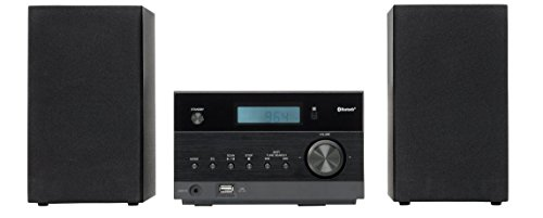 Radio-airplay (MEDION LIFE P64122 MD 43728 Kompaktanlage mit Bluetooth-Funktion, MP3, USB, UKW Radio, 2 x 50 Watt, schwarz)