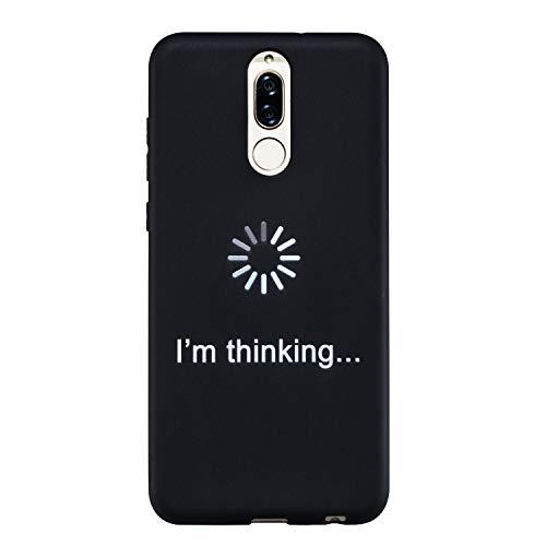 16a1a3a206b Everainy Coque Huawei Mate 10 Lite Silicone Housse Étui Créatif Motif  Souple Bumper Ultra Mince Fine Cover Etui Huawei Mate 10 Lite Simple ...