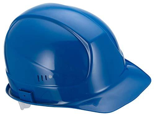 Uvex Superboss Schutzhelm - Belüfteter Arbeitshelm für die Baustelle - Blau Blau