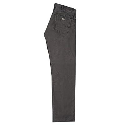 Armani J21 2R Comfort Fabric Regular Fit Jeans Black -06J21 2R 12