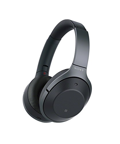Sony WH-1000XM2 Wireless Bluetooth Over-Ear Noise Cancelling High Resolution Headphones with Gesture Control, Activity Recognition, 30 Hours Battery Life - Black