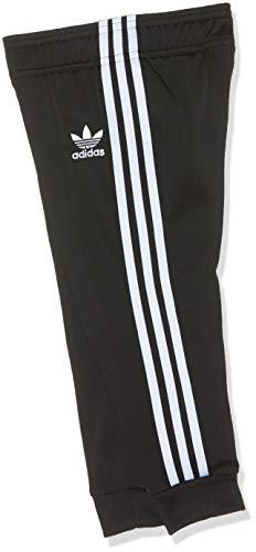 adidas Baby-Jungen SUPERSTAR SUIT Trainingsanzug, schwarz/weiß, 86 (12/18 meses)