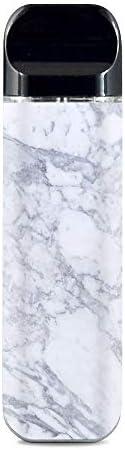 IT'S A SKIN Decal Vinyl Wrap for Smok Novo Pod System Vape Sticker Sleeve Cover/Grey White Standard Ma