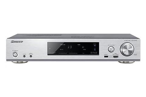 Pioneer VSX-S510-S Slim Netzwerk-Mehrkanal Receiver (Airplay, DLNA 1.5, HTC Connect, vTuner Internetradio, Steuerung via App) silber