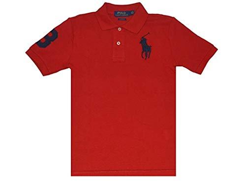 Ralph Lauren Poloshirt aus Baumwolle - Rot - 4 Jahre