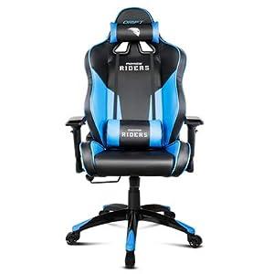 Drift Movistar Riders – DRMRDS – Silla Gaming, Color Negro/Azul