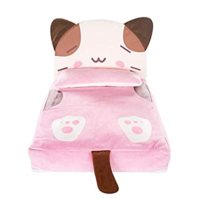 ZYZSYY Lovely Cat Soft Puppy Dog Bedding Autumn Princess Pink Winter Pet Sofa Cushion Bed Kennel For Puppies Small Medium Animal Goods from ZYZSYY