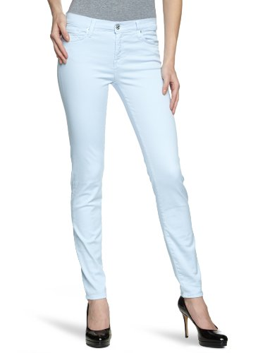 7 For All Mankind - Pantaloni, Donna, blu (Blau (Sky Gray)), 40/42 IT (27W/32L)