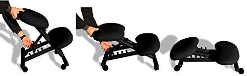 Sedia ergonomica cinius col nera sedie da scrivania - Sedia ergonomica cinius ...