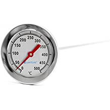 Lantelme 3114 500 °C grados, 50 cm, bimetal, horno, cocinar Horno