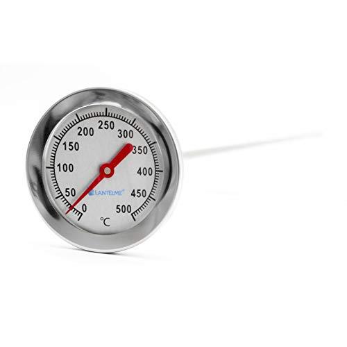 Lantelme 500 °C Grad 50 cm Thermometer Analog Bimetall Backofen Bratofen Holzofen Holzbackofen Pizzaofen 3114