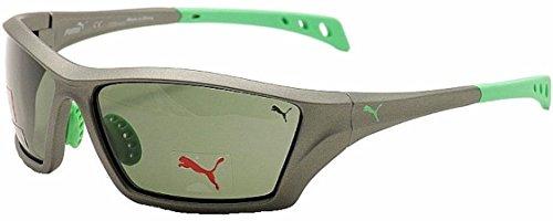 Puma Polarisierte Sonnenbrille Sportbrille mit Brillenetui. Maximaler UV Schutz - Sonnenbrille Puma Herren