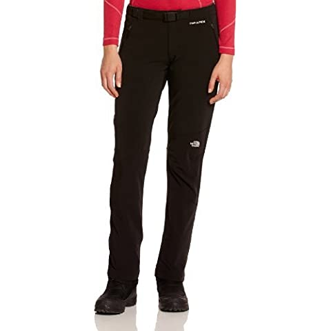 The North Face Diablo softshell pants Ladies regular black 2014 Black tnf black Size:XS by The North