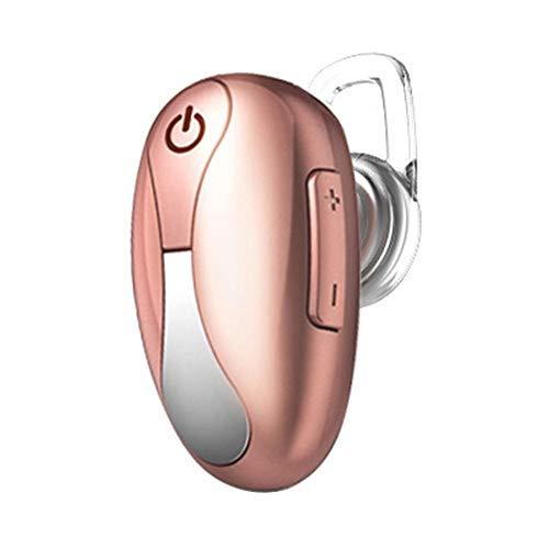 B5645ells Bluetooth 4.1 Drahtlose Sport-Ohrhörer Mini-In-Ear-Kopfhörer Stereo-Kopfhörer-Geschenk - Rotgold
