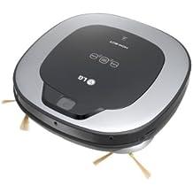 LG VR6340LV Sin bolsa 0.6L Negro, Plata aspiradora robotizada - Aspiradoras robotizadas (Sin